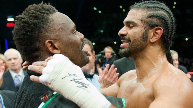 Dereck Chisora &amp; David Haye 
