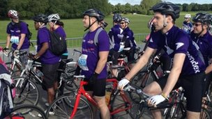 More than 4,000 cyclists were expected to take part in Great Nottinghamshire Bike Ride