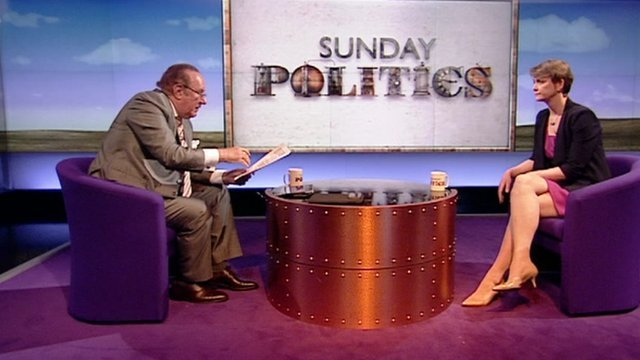 Andrew Neil and Yvette Cooper