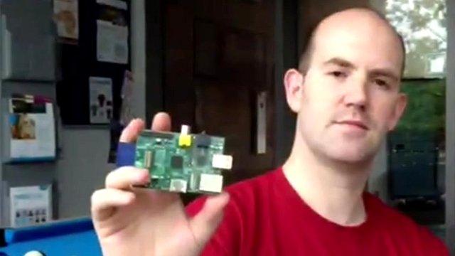 Computer scientist Eben Upton
