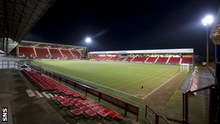 Dunfermline are hoping East End Park will continue to house SPL games