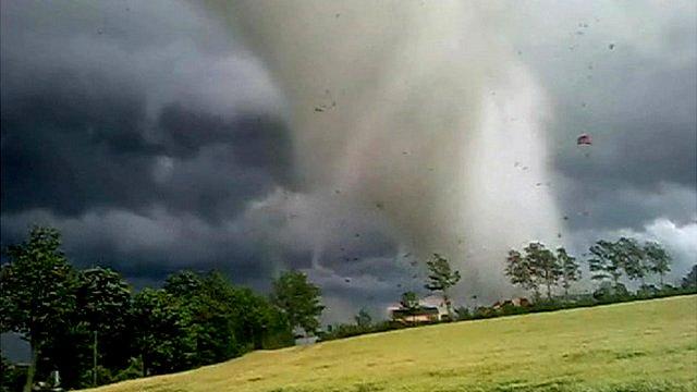 Tornado in Poland