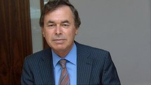 Irish Justice Minister Alan Shatter
