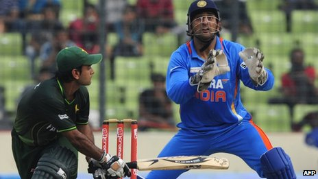 India and Pakistan played in the Asia Cup in Bangladesh in March 2012