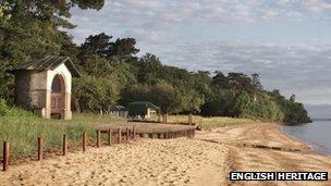 Queen Victoria beach