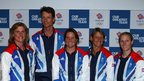 GB eventing team