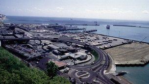 Dover's Eastern Docks