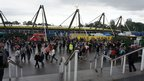A view of the concourse outside the stadium