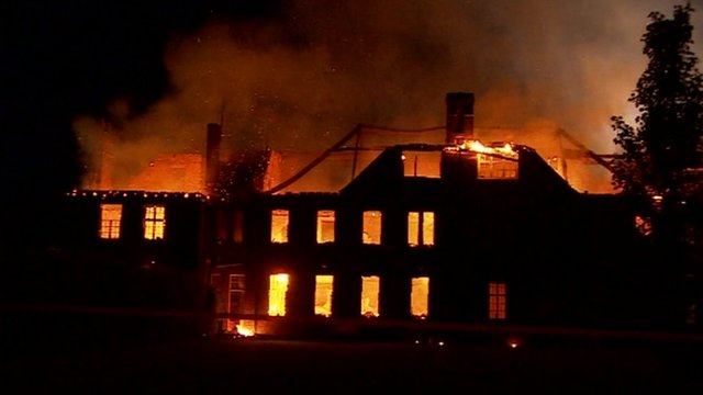 Felsted School fire