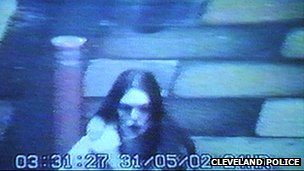 CCTV of Rachel Wilson in May 2002