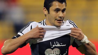 Zamalek midfielder Ahmed Hassan