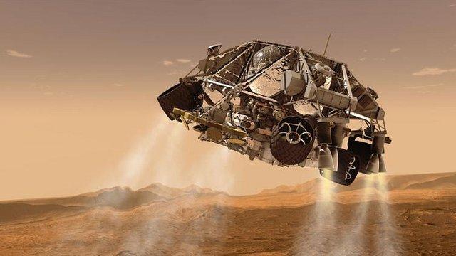 bbc news on mars landing -#main