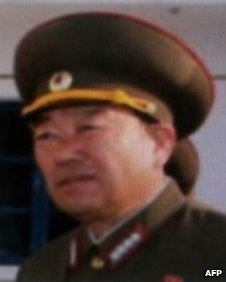 Undated photo released on 17 July, 2012 by South Korea's news agency Yonhap shows North Korea's new army vice marshal Hyon Yong-chol