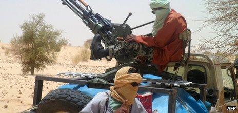 Ansar Dine fighters, Mali