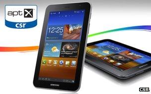 CSR Galaxy Tab 7.0 promotional image