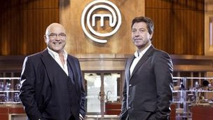 Celebrity Masterchef presenters John Torode and Gregg Wallace