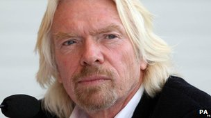 Sir Richard Branson portrait