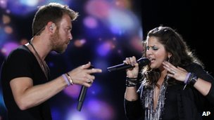 Charles Kelley and Hillary Scott of Lady Antebellum 