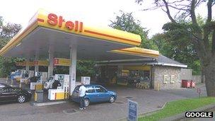 Shell Petrol station, Comiston Road, Edinburgh