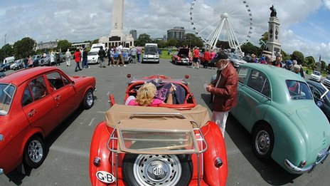 BBC Radio Devon's Motor Rally 2012