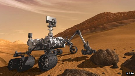 Rover on the surface