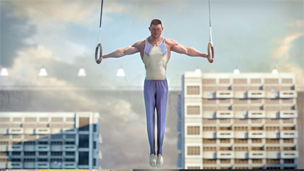 Still image from the BBC Olympics trail