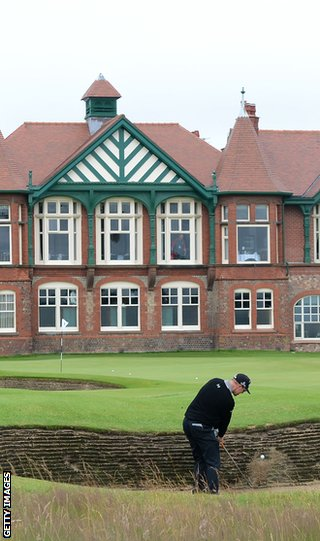 Lytham's rough has come in for criticism from Tiger Woods
