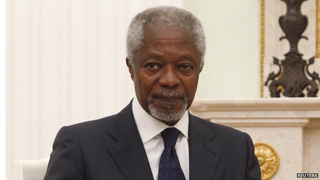 Kofi Annan in Moscow