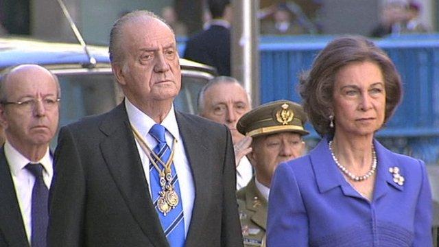 King Juan Carlos and Queen Sofia