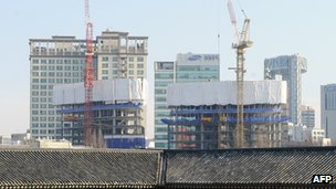 South Korean housing development