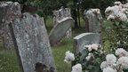 Graveyard in Pluckley, Kent