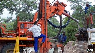 drilling aquifer
