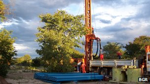 drilling namibia