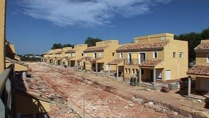 Unfinished housebuilding in Spain