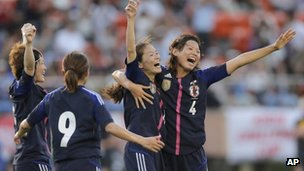 File photo: Japan women&#039;s football team