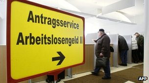 German unemployment office