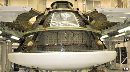NASA's new Orion spacecraft