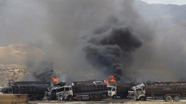 Nato trucks