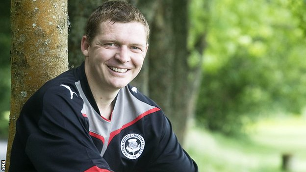 Martyn Corrigan is the new manager of Stenhousemuir