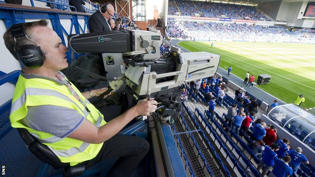 Rangers' Third Division matches could be televised live