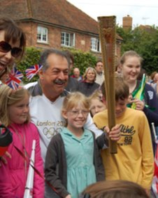 Children with Andrew Liveris