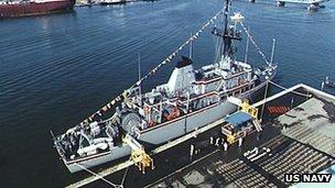 USS Avenger (File)