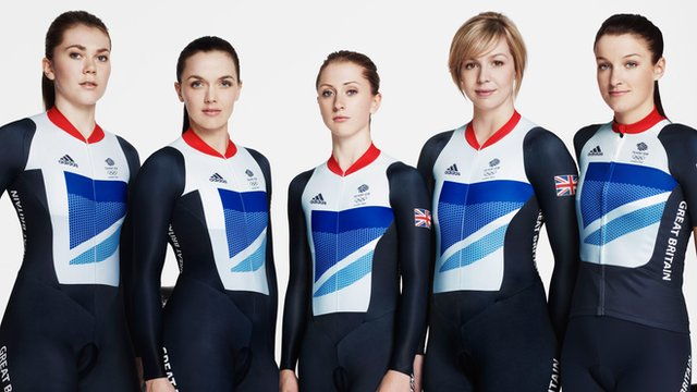 Team GB women's track cyclists