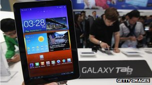 Galaxy Tab tablet
