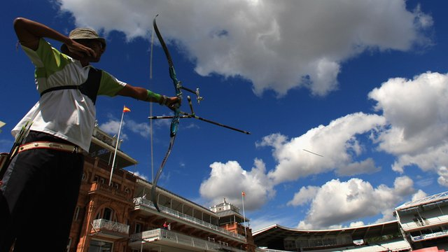 Archer in action at Lord&#039;s