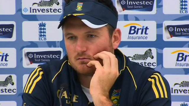 South Africa captain Graeme Smith