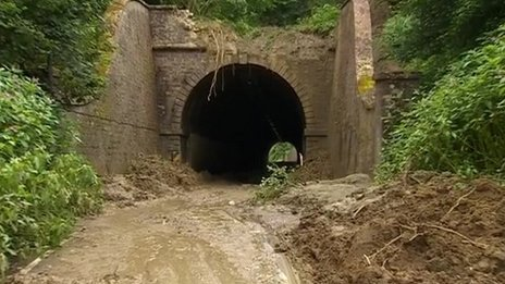 A3066 tunnel