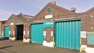 Shrewsbury Bus Depot