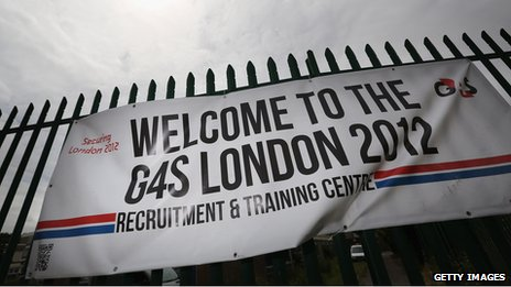 G4S banner