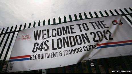 G4S banner